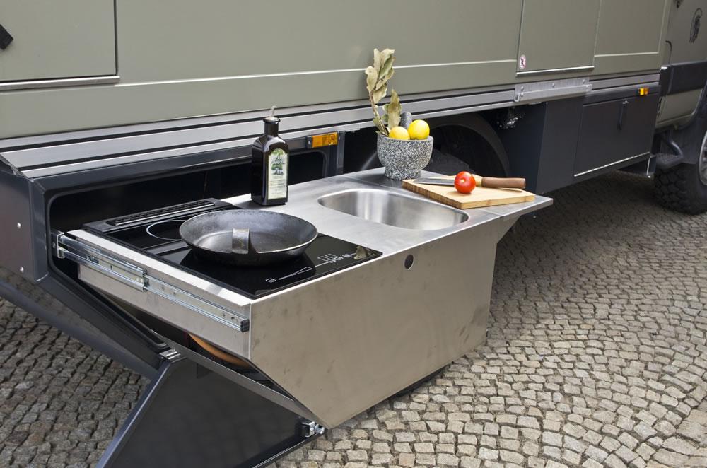 Kochfeld Für Außenküche : Pabst air tec außenküche