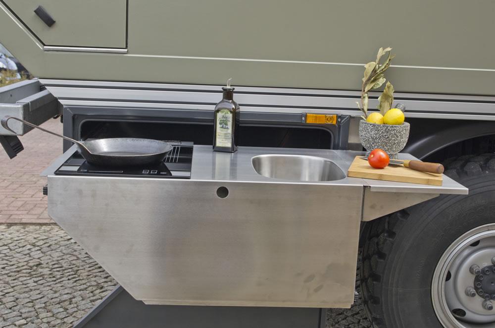 Außenküche Mit Spüle : Spüle edelstahl auch für außenküche in hessen büdingen ebay