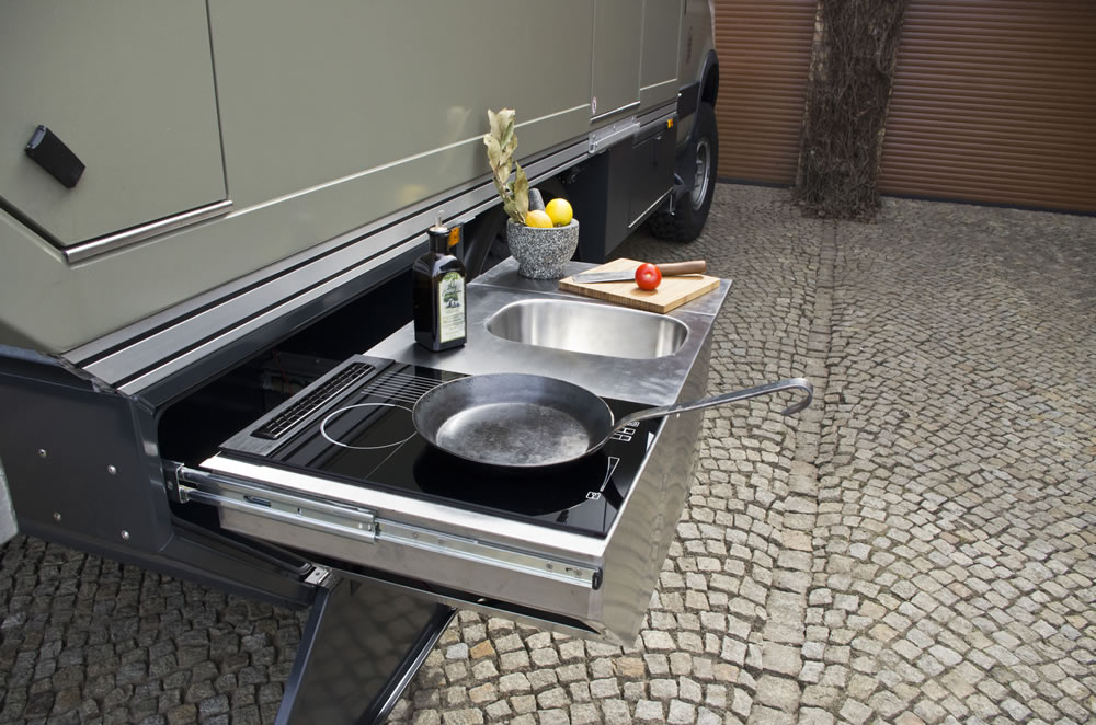 Außenküche Mit Spüle : Röshults garden kitchen sink outdoor küche spüle